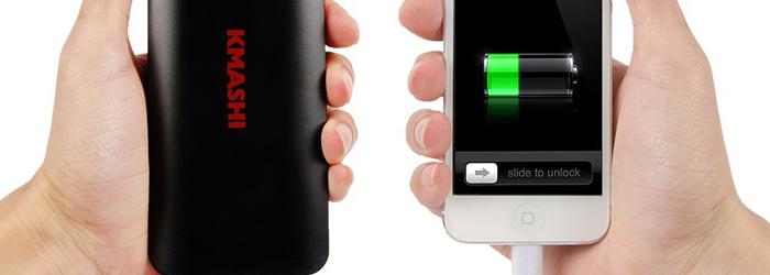 Kmashi lanza su nuevo power bank para iPhone 6 y iPhone 6S