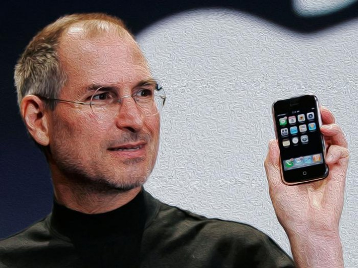 Retrato Steve Jobs