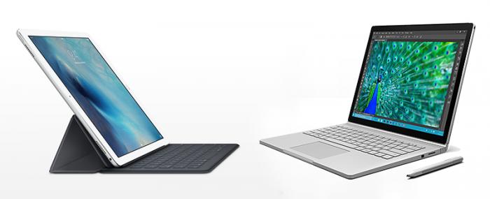iPad Pro vs. Surface Book