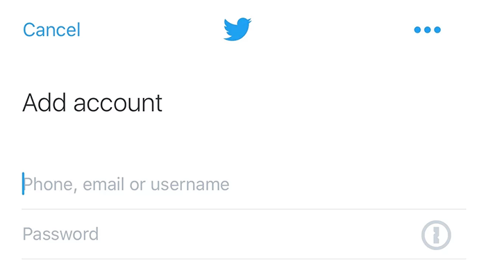 Twitter y 1Password