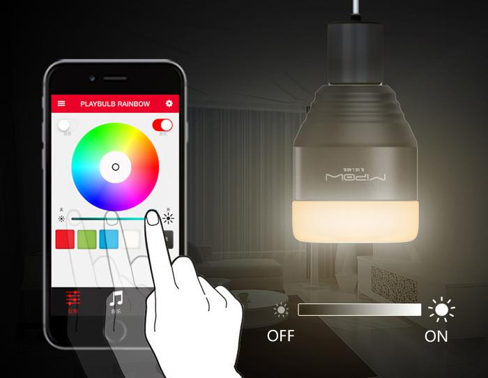 Smart-LED-MIPOW-app
