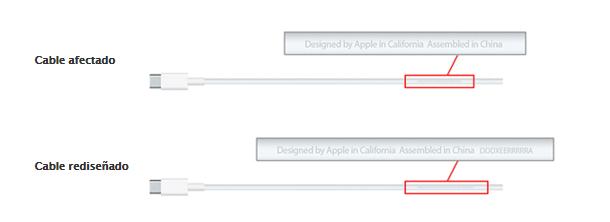 USB-C defectuoso de Apple