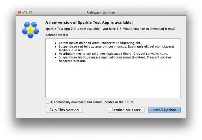 sparkle-updater
