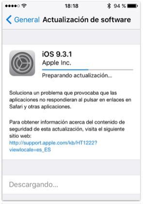 actualizacion_software_iOS9.3.1