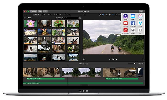 iMovie for Mac
