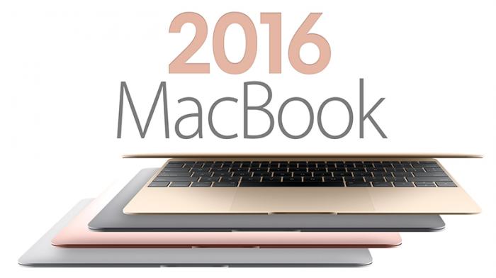 "MAcBook 12"" y MacBook 13"" 2016"