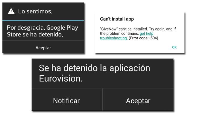 fallos-android
