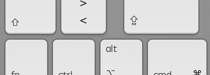 Funciones rápidas de teclado para Mac