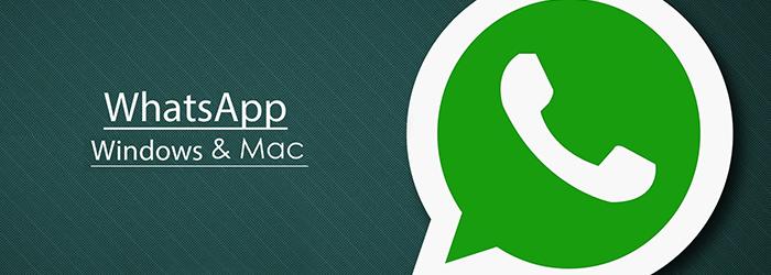 WhatsApp lanza su aplicación oficial para Mac y Windows