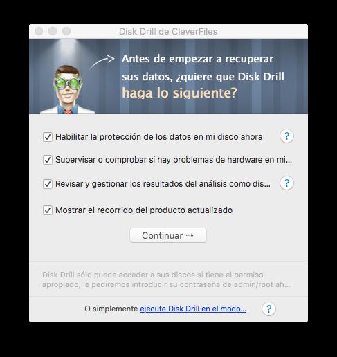 Instalacion Disk Drill