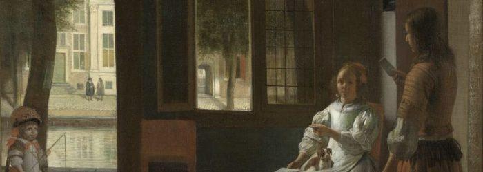¿Un iPhone en una pintura de hace 350 años?