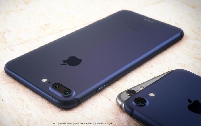 nuevo iPhone 7 azul