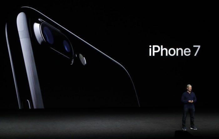 presentacion iphone 7