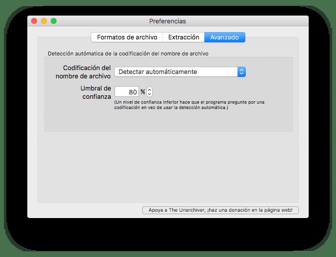 The Unarchiver para Mac