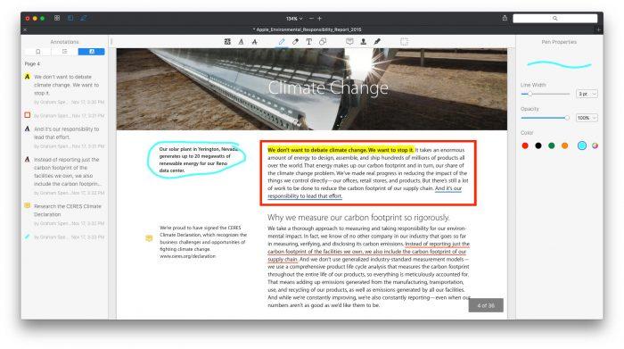 PDF Expert Resaltar