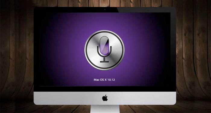 Invocar Siri macOS Sierra