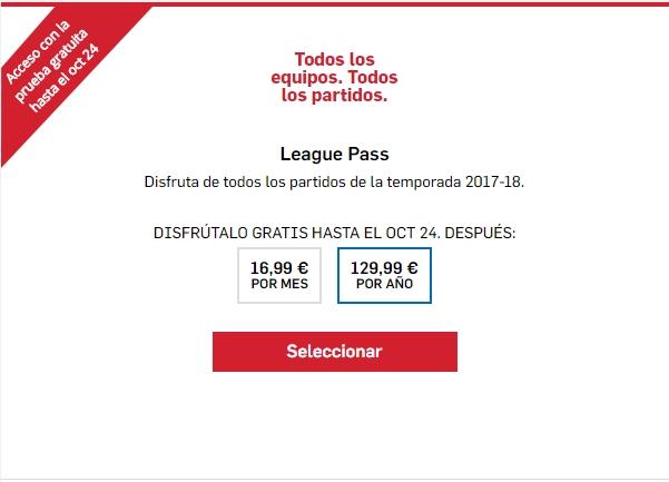 NBA League Pass Ilimitado