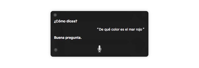 Oye Siri en el Mac