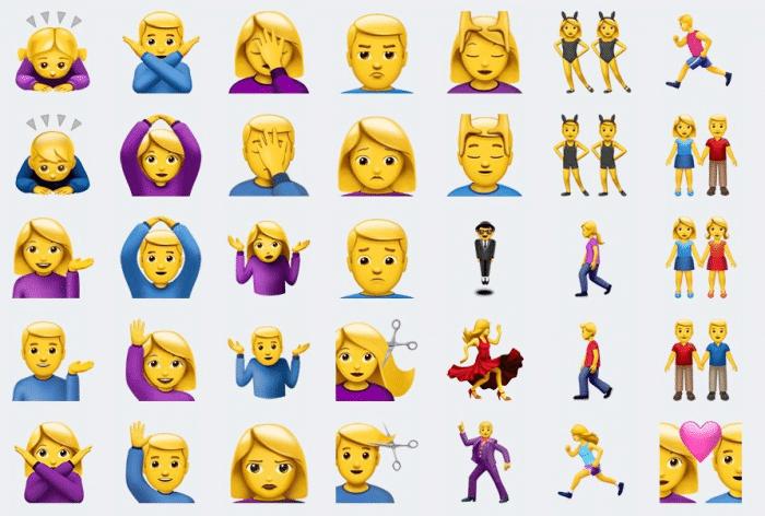 Emojis iOS 10.2