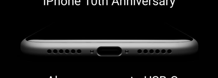 Confirmado: el iPhone 8 cambiará el puerto Lightning por un puerto USB-C