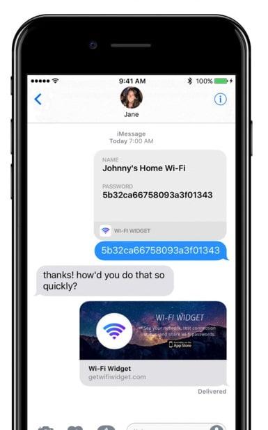 iphone wifi widget
