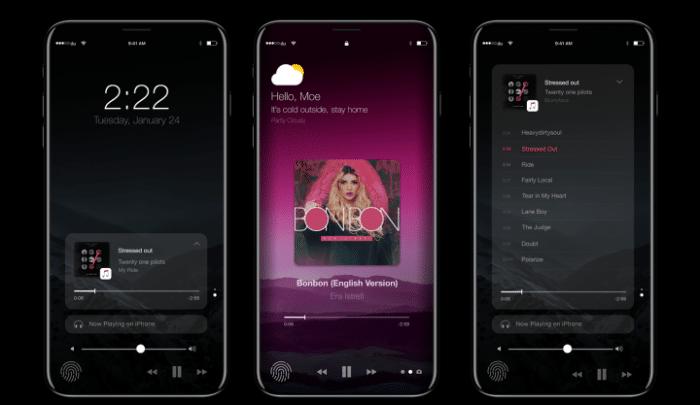iPhone 8 Musica