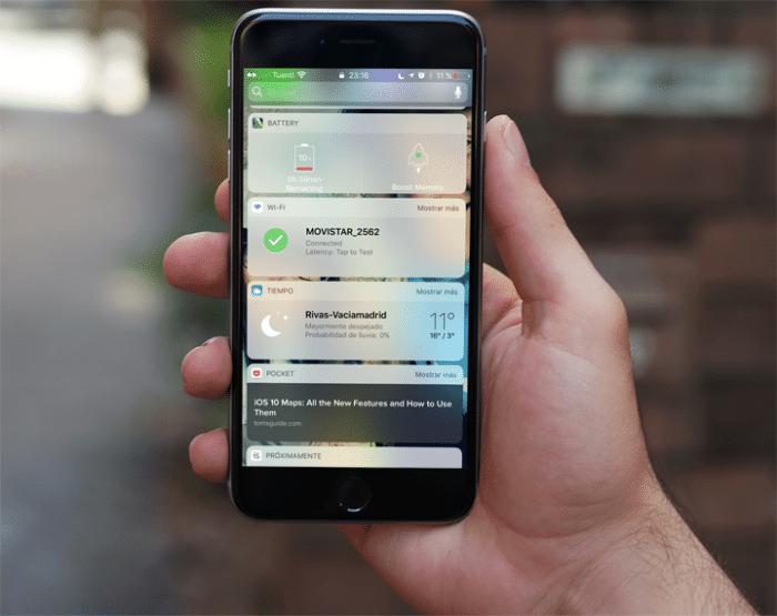 Wi-Fi Widget iOS