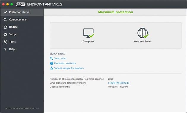 ESET Endpoint Antivirus 6 Mac