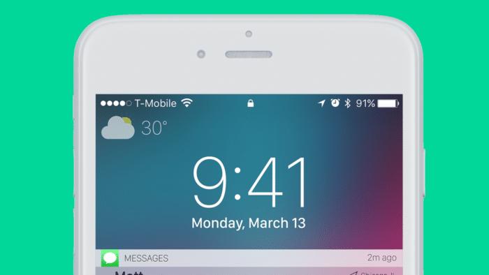 Tiempo iOS11