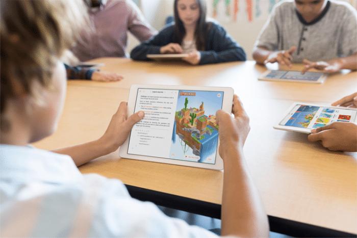 iPad en la escuela