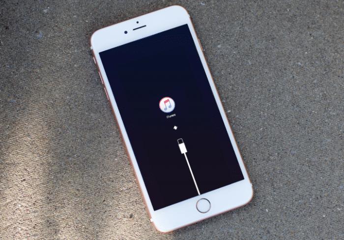 iphone 7 modo recuperacion