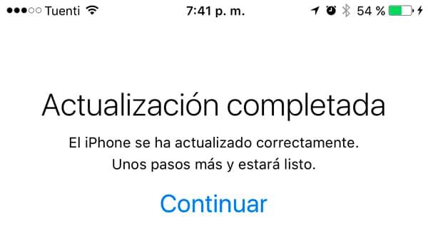 actualizar iphone