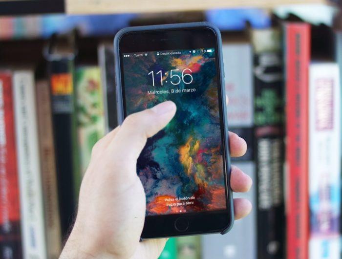 fecha y hora iphone