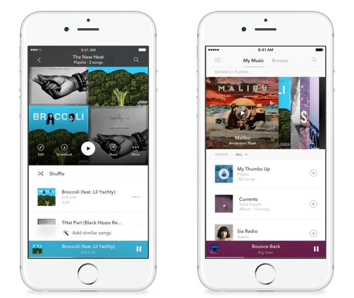 Pandora para iOS