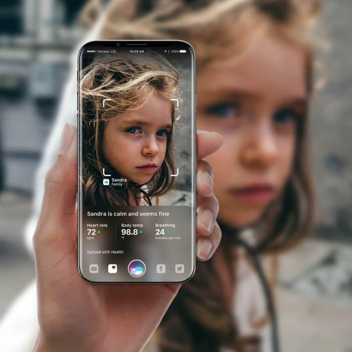 iPhone X reconocimiento facial