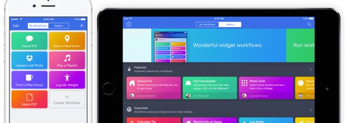 Apple compra la app Workflow y la regala a sus usuarios