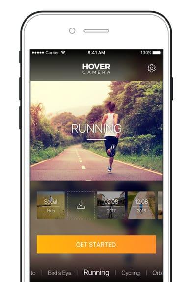 Hover Camera app