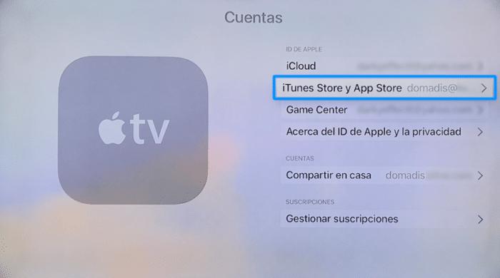 iTunes App Store Apple TV