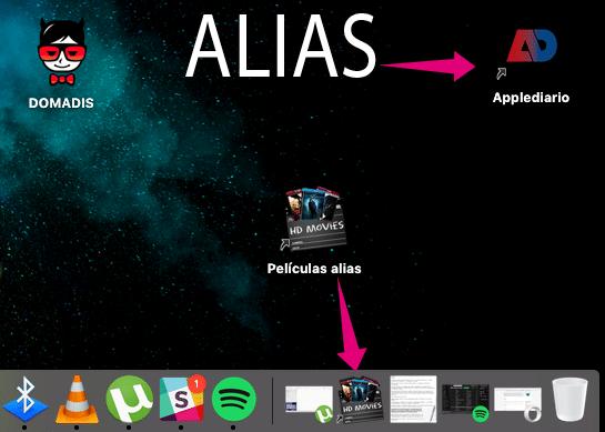 Alias en macOS