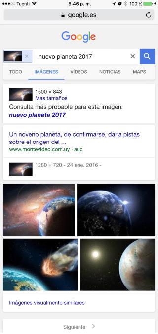 busqueda por imágenes