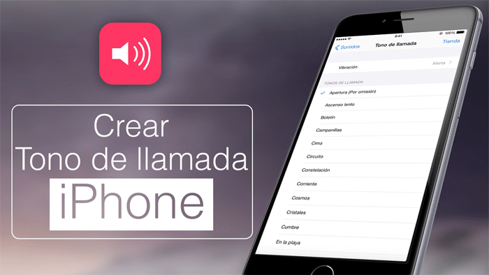 crear ringtone iPhone