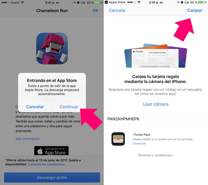 canjear app gratis