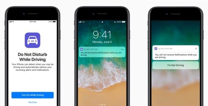 iOS 11 No Molestar