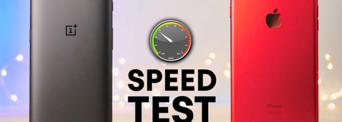 El iPhone 7 Plus masacra al OnePlus 5 en los tests de velocidad