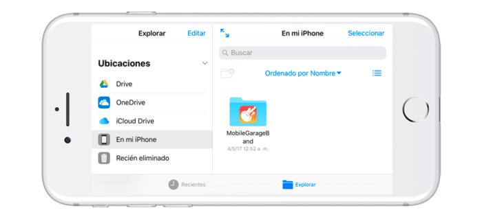 Archivos app iOS 11