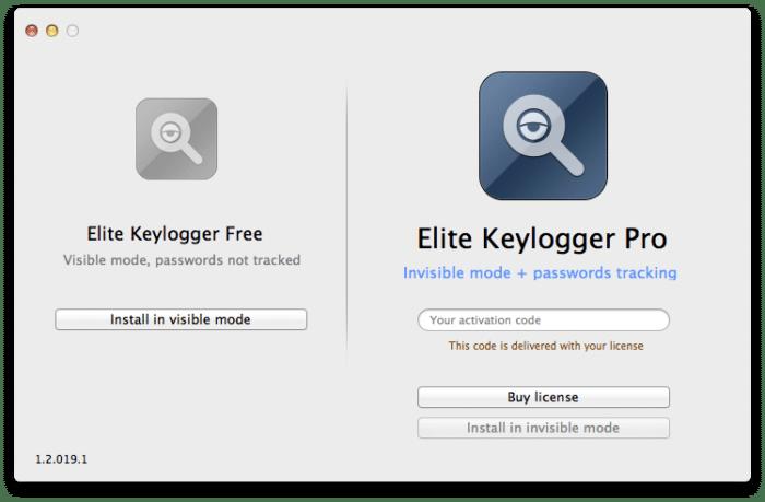 registro keylogger