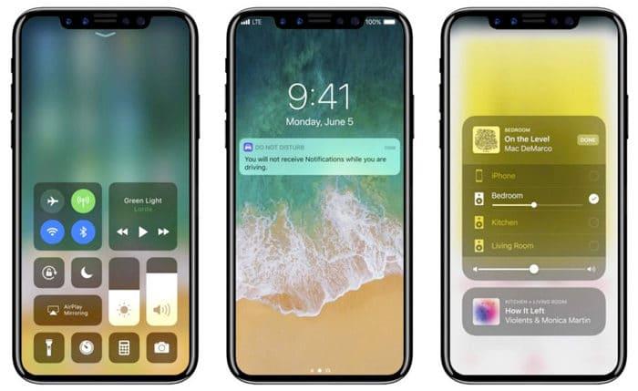 factor forma iphone 8