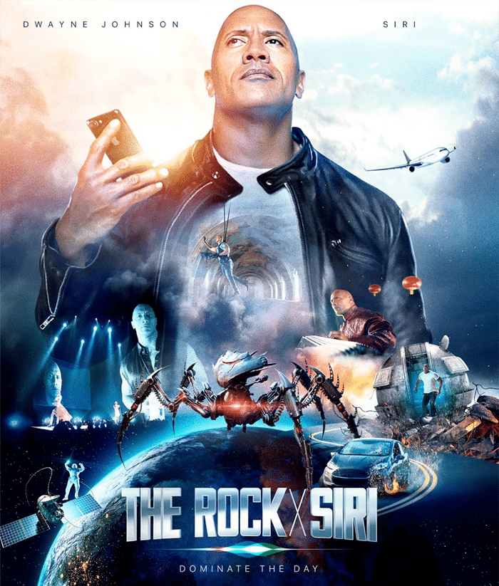 The Rock & Siri Movie