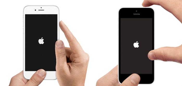 como apagar el iPhone