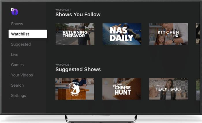 Watch TV Facebook